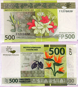 Ticket From 500 Francs Cfp90 Cfp 2014 Polynesia Tahiti Caledonia Outre Sea