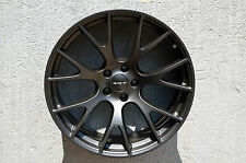 Set of 4 Wheels 20 inch Matt Black Rims fit DODGE CHARGER SRT HELLCAT