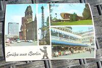 Salutations de Berlin Carte Postale 50er 60er Années Pfb 19 Å