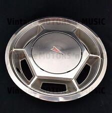 "1976 1977 1978 1979 Pontiac Astre Sunbird Plastic & Stainless 13"" Wheel Cover"