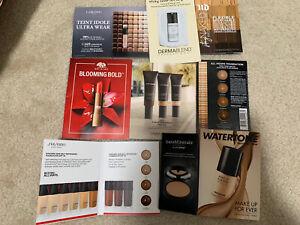 Lot Of Makeup Samples, YSL, Shiseido, Make Up Forever, Laura Merrier…