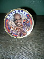 Vintage Collectible Sports Impressions Charles Barkley Mvp Commemorative Plate