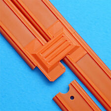 2-Lane Track Connector (6pk) - For Hot Wheels Orange Raceway Race Track