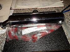 Derbi DRD 125 R/SM GPR Auspuff endschalldämpfer Crome Original 00H03423413