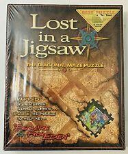 Lost in a Jigsaw Diagonal Maze Puzzle 19 X 17 Buffalo Games