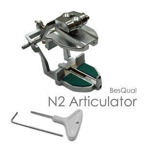 N2 Plaster Less Dental Articulator Lightweight & Easily Adjustable