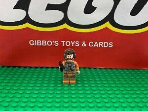 LEGO NODIN CHAVDRI + gun resistance pilot minifigures STAR WARS set 75195