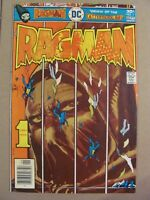 Ragman #1 DC Comics 1976 Origin & 1st app Joe Kubert 9.0 Very Fine/Near Mint