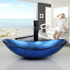 Waschtisch Glas badezimmer das waschtische becken aus glas günstig kaufen ebay