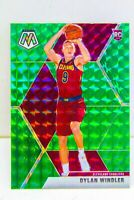 Dylan Windler RC 2019-20 GREEN MOSAIC PRIZM Rookie Card #208 Cleveland Cavaliers