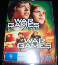 War Games 1 / War Games 2 The Dead Code (Australia Region 4) DVD – Like New