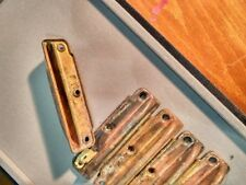 Industrial Copper Metal Drawer HANDLES Cabinet PULLS Set of 5 Vintage A