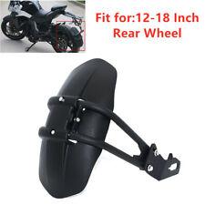 "12-18"" Rear Wheel Fender Mudguard Prote ctor Frame Splash Guard PVC Motorcycle"