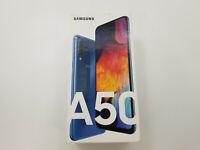 Samsung Galaxy A50 A505F/DS Blue Unlocked 64GB Clean IMEI -BT7444 W