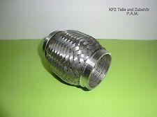 Auspuff Flexrohr Hosenrohr 50 mm Ø x 100 mm Hosenrohr  universal
