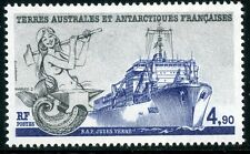TIMBRE T.A.A.F. / TERRES AUSTRALES NEUF  N° 136 ** VOILIER LE JULES VERNES