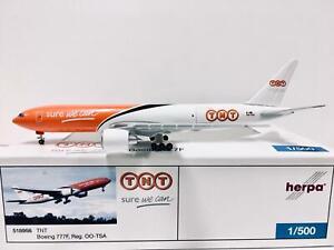 Herpa Wings TNT Boeing 777F 1:500 OO-TSA 518956 LAST