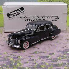 Danbury Mint 1941 Cadillac Fleetwood Series 60 1:24 diecast model boxed