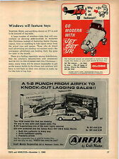 1966 ADVERT Airfix James Bond 007 Car Model Kit Aston Martin B 29 Superfortress