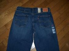 "NEW LEVI'S 550 RELAXED FIT DENIM JEANS 40"" W 32"" L DARK WASH BL MSRP $68.00"