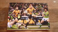 WESTS TIGERS STAR KEITH GALLOWAY HAND SIGNED RUGBY LEAGUE 7x5 PHOTO
