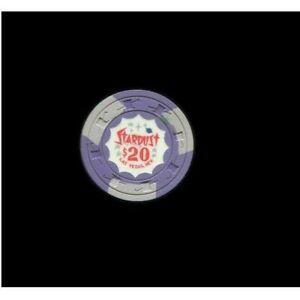 vintage $20 Stardust Casino Chip, Las Vegas, NV  (Dates from 1964)