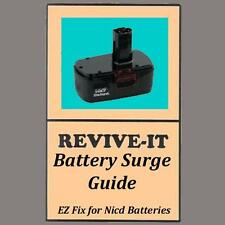 FIX your MAKITA battery, REVIVE-IT® guide+video, 7.2 9.6 12 14.4 18v