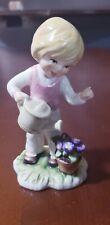 """Goebel 11 285 12 Tmk6 1978 Lore Girl Watering Flowers 4 5/8"""""""