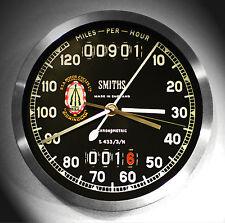 BSA B31,Stella D'oro,Tachimetro Classico Smiths Stile Orologio Da Parete Anni 50