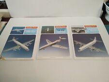 Schreiber- Bogen Douglas DC-7C Caravelle & Lockheed Electra Card Models