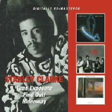 TIME EXP/FIND OUT/HIDEAWAY - CLARKE STANLEY [CD]