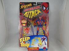 Spider-Man Sneak Attack Web Trap Catcher Toy Biz 1998