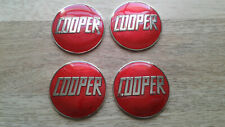 rover mini cooper john cooper red enamel badge s works mpi si sport 500 1275 x4