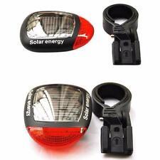 Solar Powered LED Rear Flashing Rücklicht Für Fahrrad Cycling Lampe Sicherheit