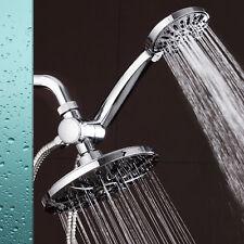 """AquaDance 7"""" Premium High Pressure 3-way Rainfall Shower Head Handheld Combo"""