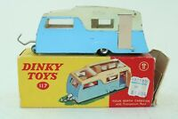 Dinky Toys No 117 Four Berth Caravan - Meccano Ltd - Made in England - Boxed