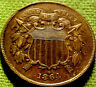 1864 Two Cent Piece 2c ~ A HIGH GRADE ClVIL WAR COIN w/ SOLID DETAILS 30HM