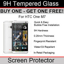 Premium Quality Tempered Glass screen protector for HTC One M7