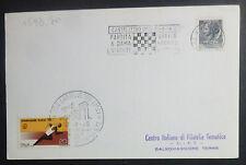 ANNULLO MECCANICO - PARTITA DAMA VIVENTE - CASTELVETRO - MODENA - 1970