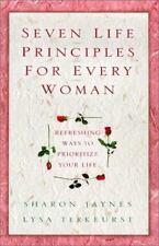 Seven(7) Life Principles for Every Woman Lysa Terkeurst Christian Hardcover book