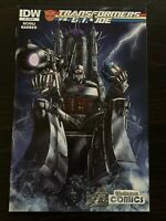 Transformers vs G.I Joe #3 Yesteryear Exclusive & Retailer Incentive Variant