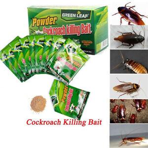 Effective Powder Cockroach Killing Drugs Roach Killer Insecticide Bait UK