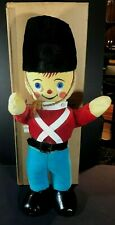 "Vintage Large Knickerbocker No 1843 Soldier Boy 23"" Doll in Box - Minty!!"