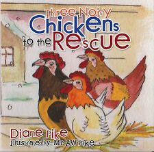 CHILDREN'S WINTER STORY SEASONAL 'THREE NOISY CHICKENS TO THE RESCUE'