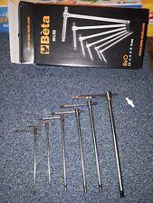 Serie chiavi Beta Tools 951/S6 estremita maschio esagonali a T