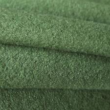 Kochwolle Walkloden - 100% Wolle - Trachten Olive Dunkel Grün Mantelwolle Winter