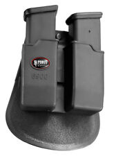 New Fobus GLOCK 19, 17, 22 Paddle Double black Mag Pouch model 6900 NEW DESIGN!