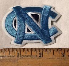 "UNC North Carolina Tar Heels Logo Iron On 3"" x 2.25"" Patch Nike NCAA White"