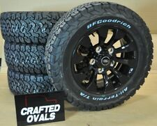 Land Rover Defender BFGoodrich AT Tyres 265/65r18 & Sawtooth style alloys X 5