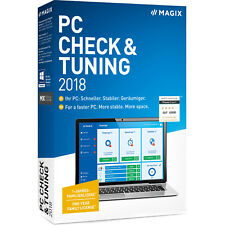 MAGIX PC Check & Tuning 2018 permanently improve your PC's performance